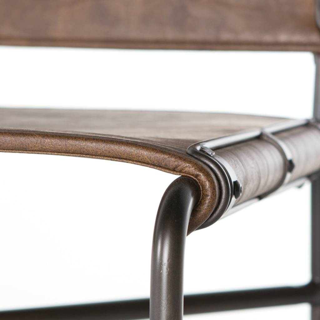 Wharton Counter Stool - Distressed Brown