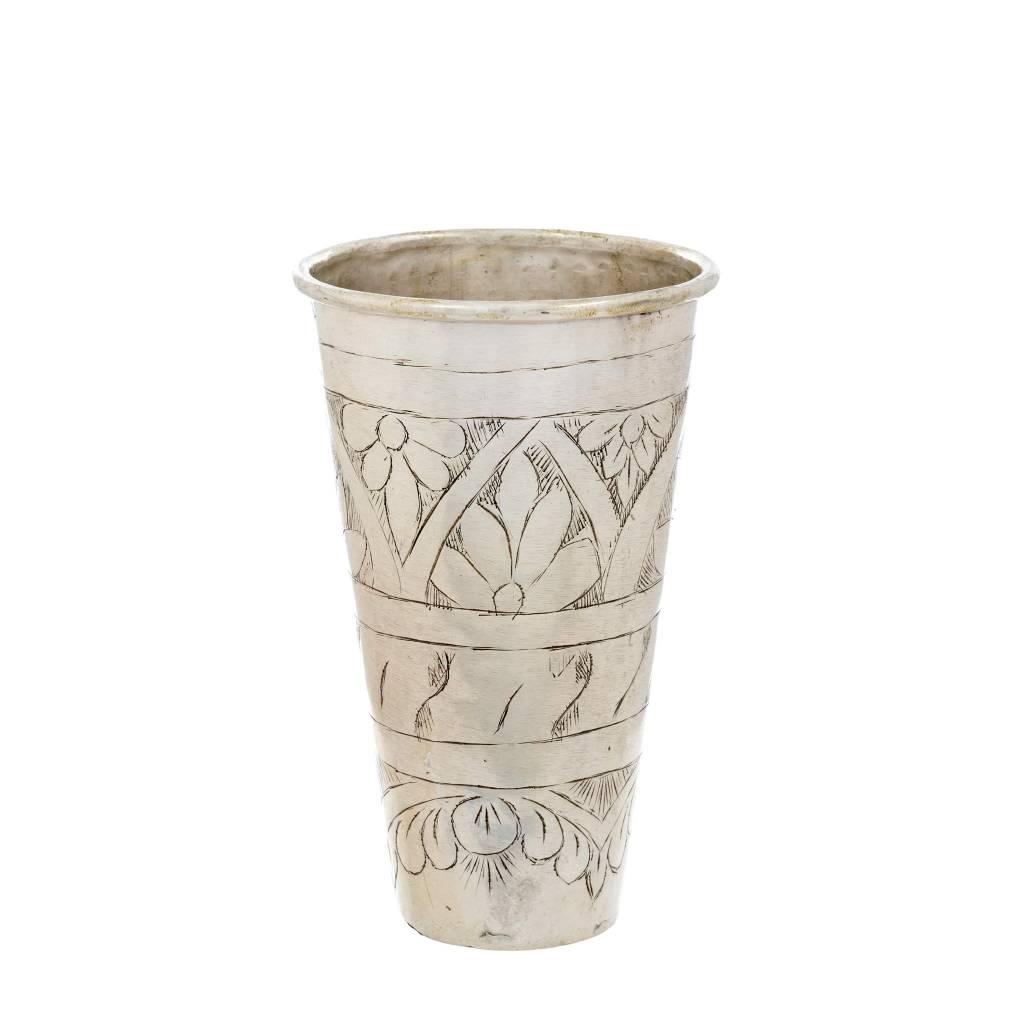 Brass Lassi Vase Large