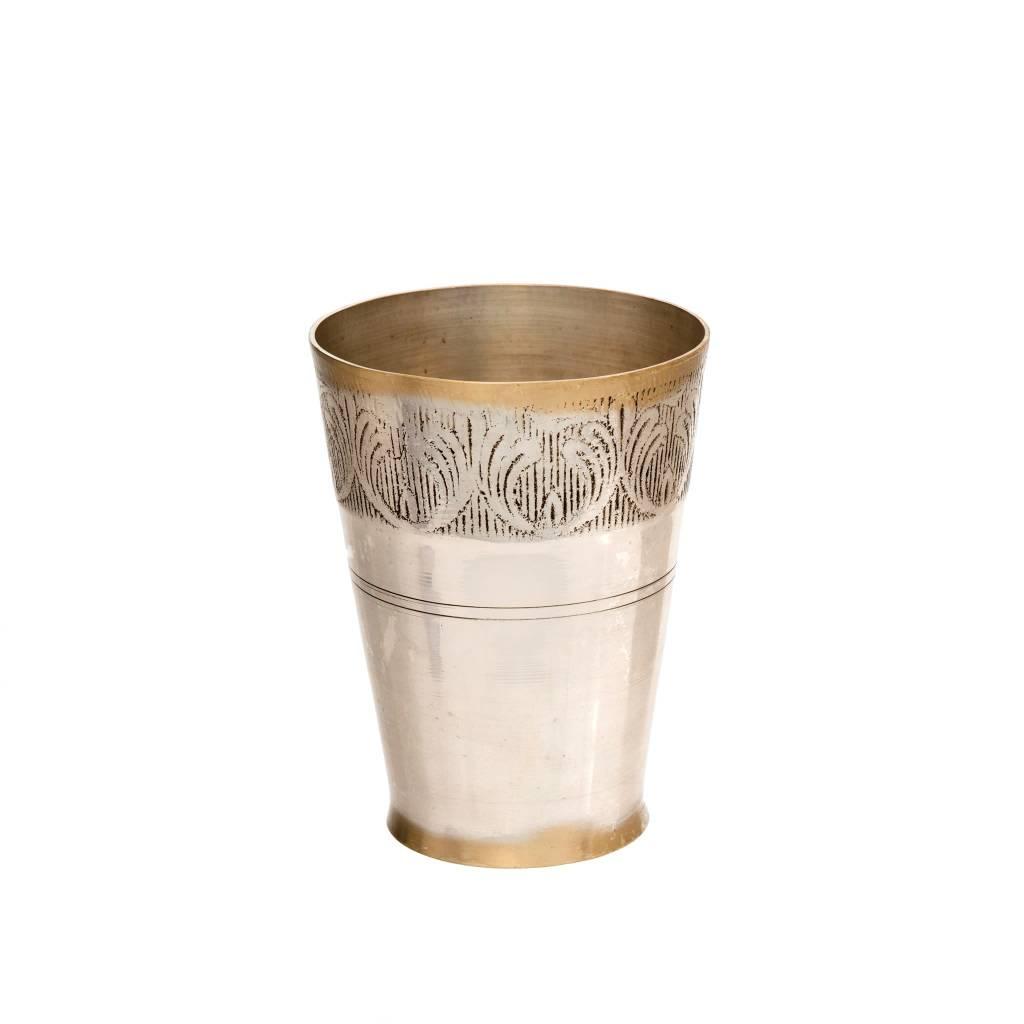 Brass Lassi Vase Small