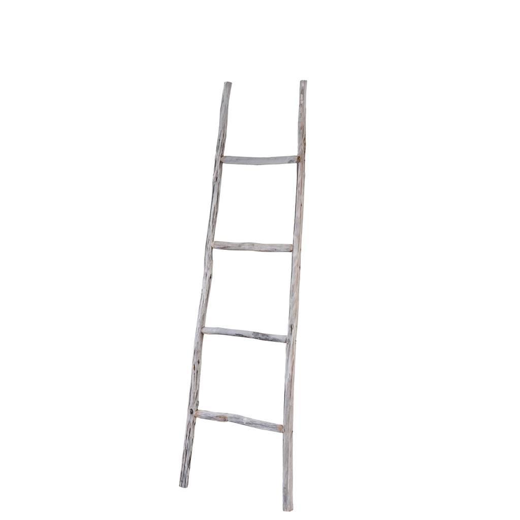 Branch Ladder White Small