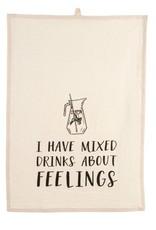 Mixed Drinks Tea Towels