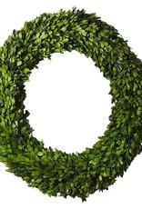 "Boxwood Circle Wreath 24"""