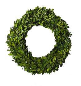 "Boxwood Circle Wreath 14"""