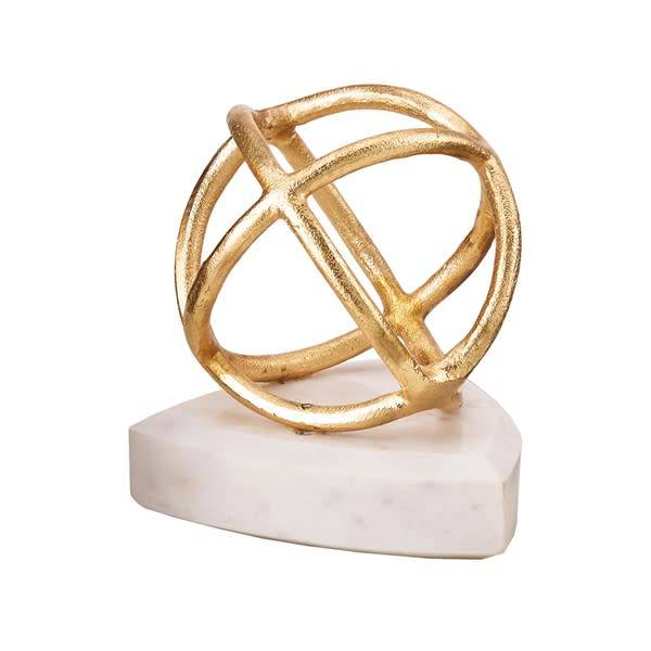 Arvin Gold and Marble Figurine