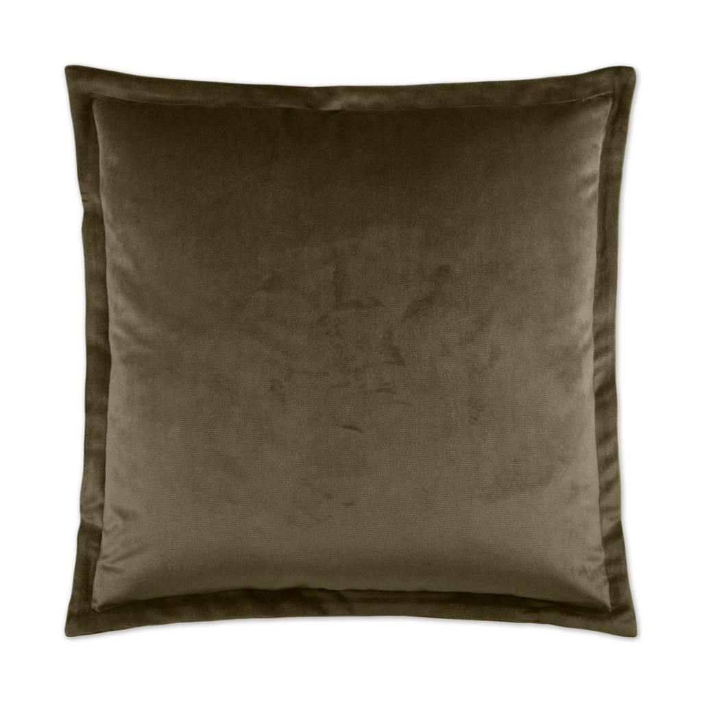 Belvedere Flange Pillow - Otter 24 x 24