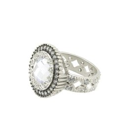 Freida Rothman Round Crown Edge Ring