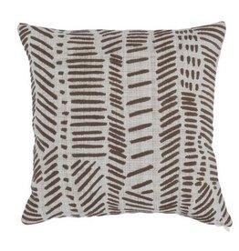 Brea Pillow - Sepia 18 x 18