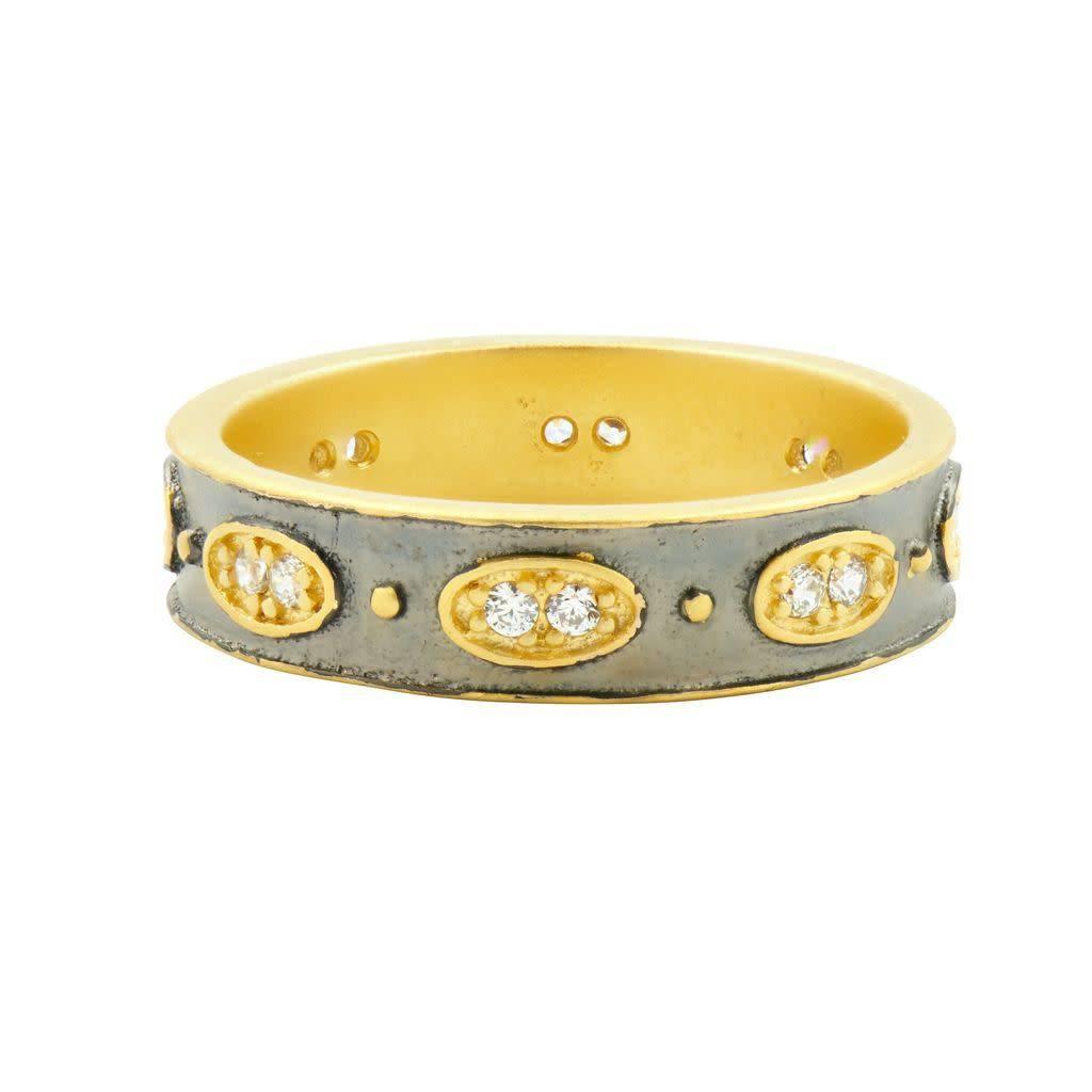 Freida Rothman Wide Stack Ring