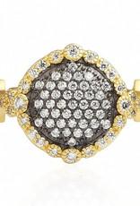 Freida Rothman Pave Disc Ring