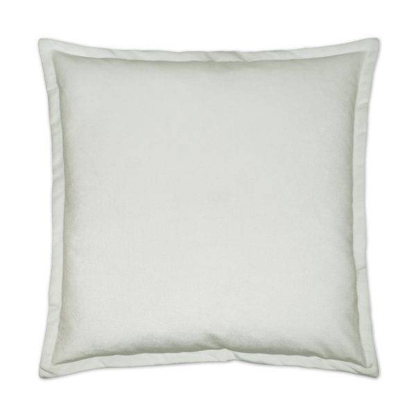 Belvedere Flanged Pillow Marshmallow 24 x 24