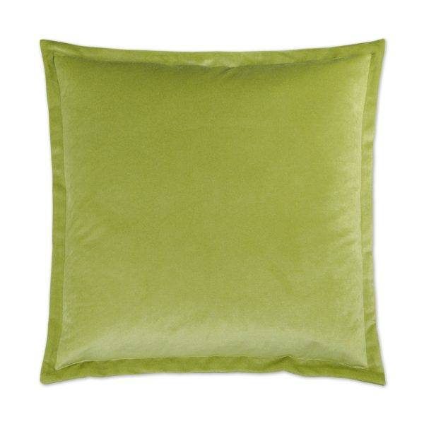 Belvedere Flanged Pillow - Lime 20 x 20