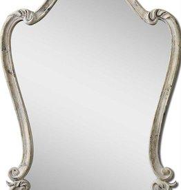 Walton Hall Mirror White