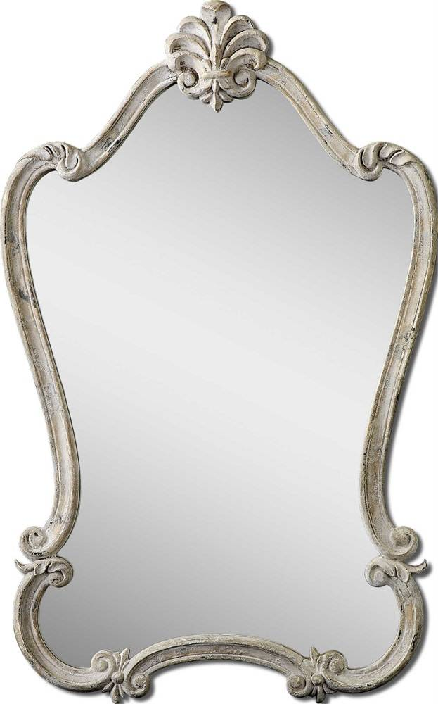 Walton Hall Mirror White