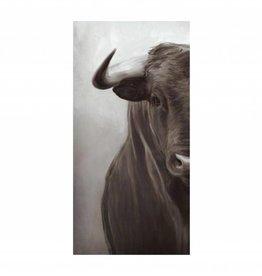 Portrait of a Bull 24 x 48