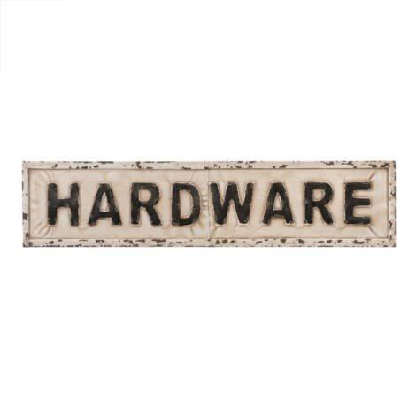 Hardware Sign