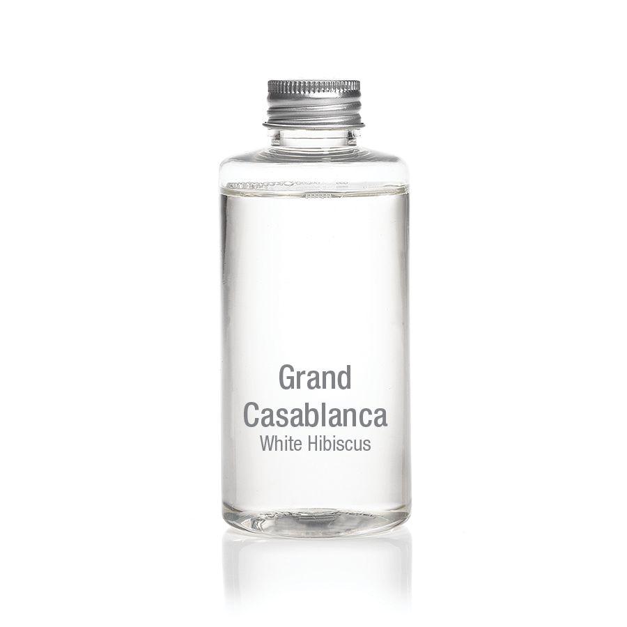 Zodax White Hibiscus Grand Casablanca Pocelain Diffuser REFILL