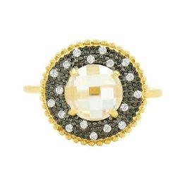 Freida Rothman Signature Single Stone Cocktail Ring