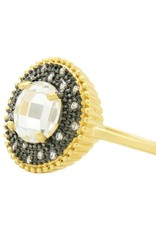 Freida Rothman Signature Single Stone Cocktail Ring