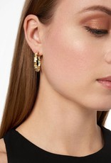 Freida Rothman Raidiance Hoop Earrings