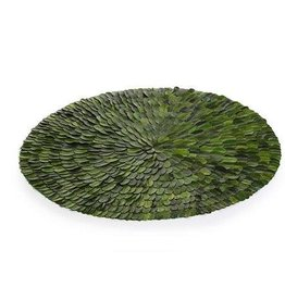 Preserved Round Leaves Placemat