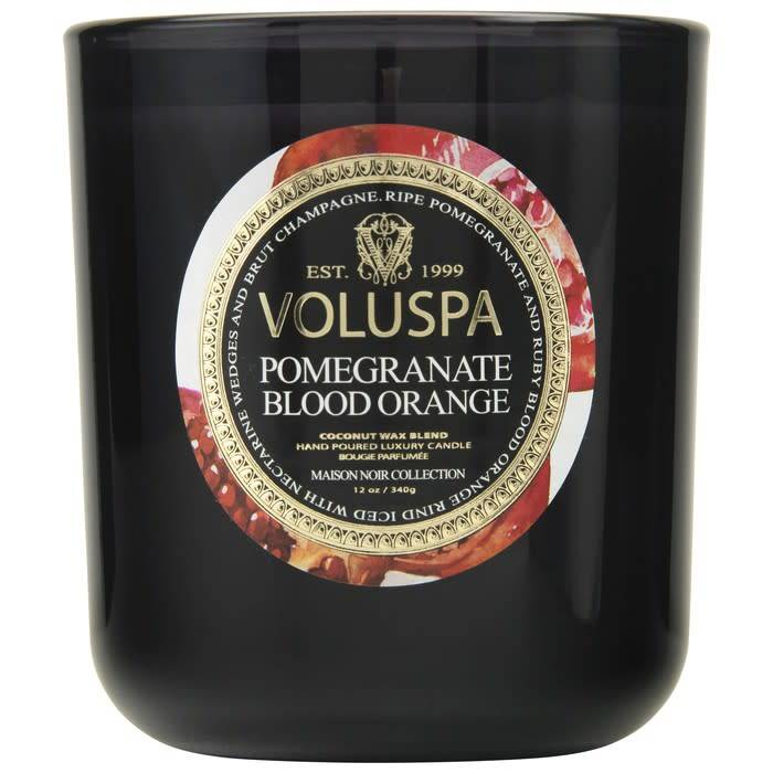 Voluspa Pomegranate Blood Orange Classic Maison Candle
