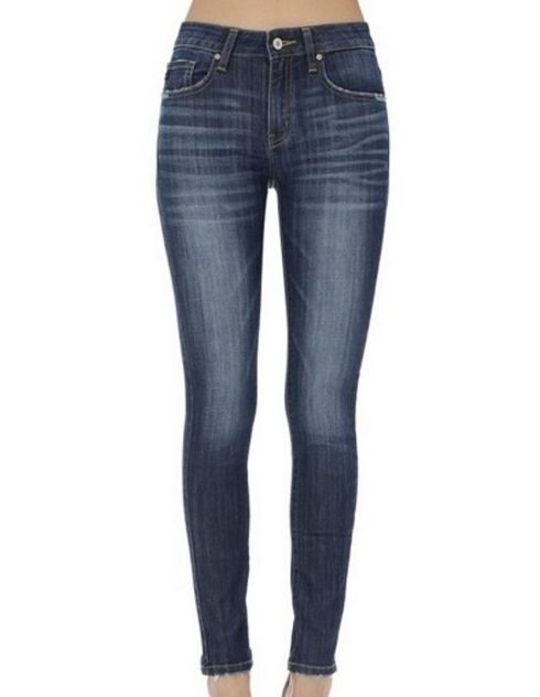 KanCan Skinny Jean Medium Blue