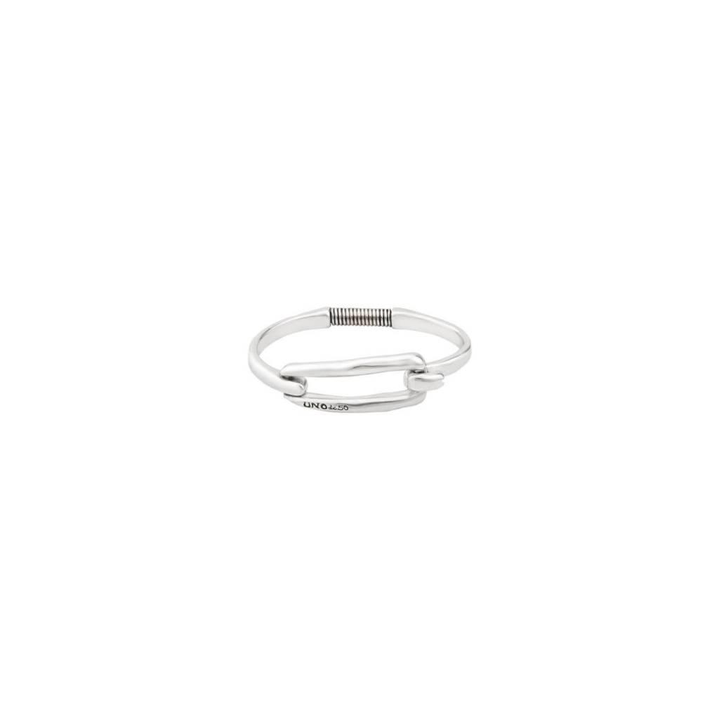 Uno de 50 Tied Bracelet Silver M