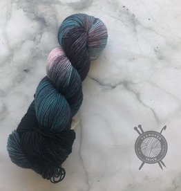 Forbidden Fiber Co. Hair Boss on Gluttony Sock from Forbidden Fiber Co.