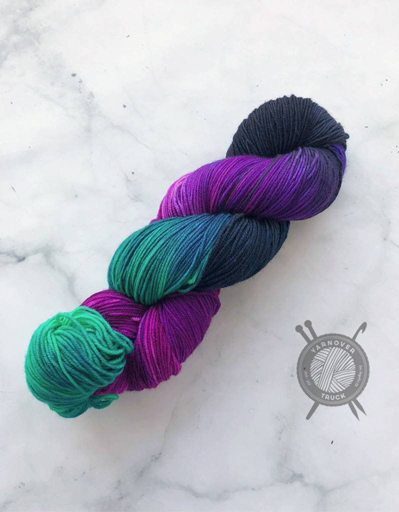 Destination Yarn Northern Lights on Passport from Destination Yarn