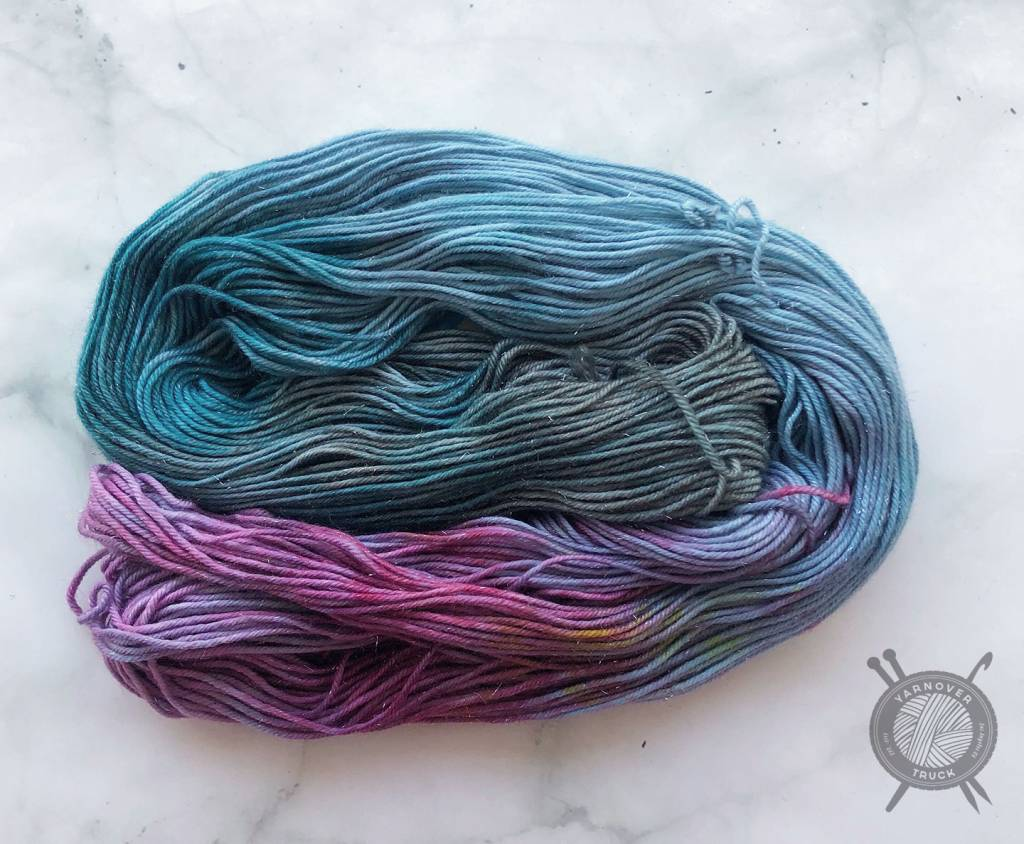 Destination Yarn Destination Yarn Silver Shiny DK La Jolla Sunset