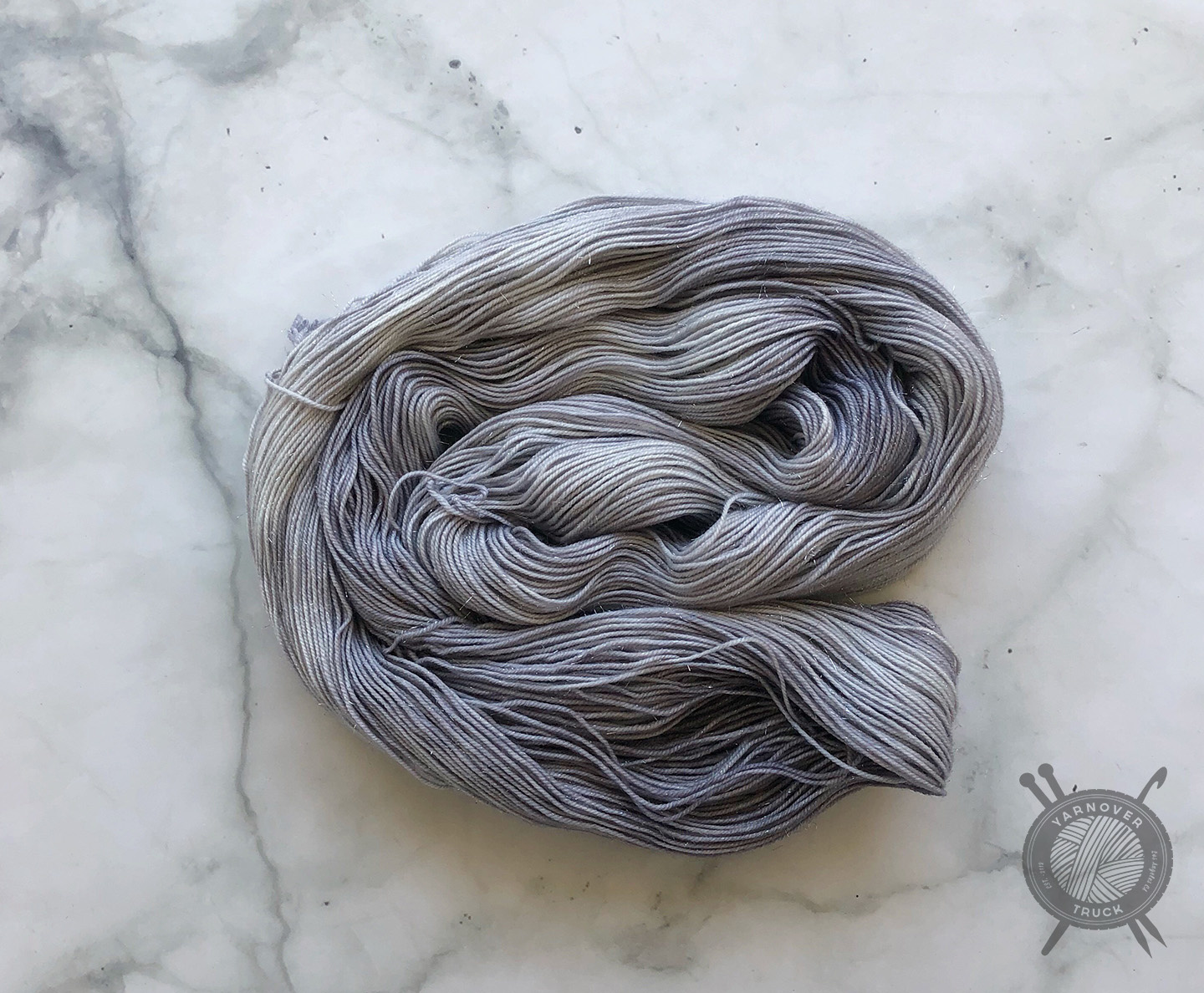 Forbidden Fiber Co. Pale Moonlight on Pride from Forbidden Fiber Co.