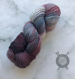 Forbidden Fiber Co. Vampire Queen on Gluttony Sock from Forbidden Fiber Co.