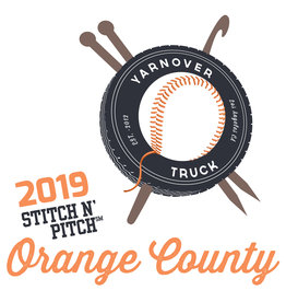 Yarnover Truck 2019 Stitch 'N Pitch Ticket - Angels