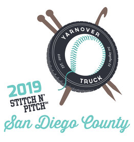Yarnover Truck 2019 Stitch 'N Pitch Ticket - Padres