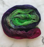 Dragonfly Fibers Aurora Borealis on Pixie from Dragonfly Fiber