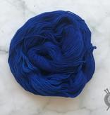 Dragonfly Fibers Blue Velvet on Djinni Sock from Dragonfly Fiber