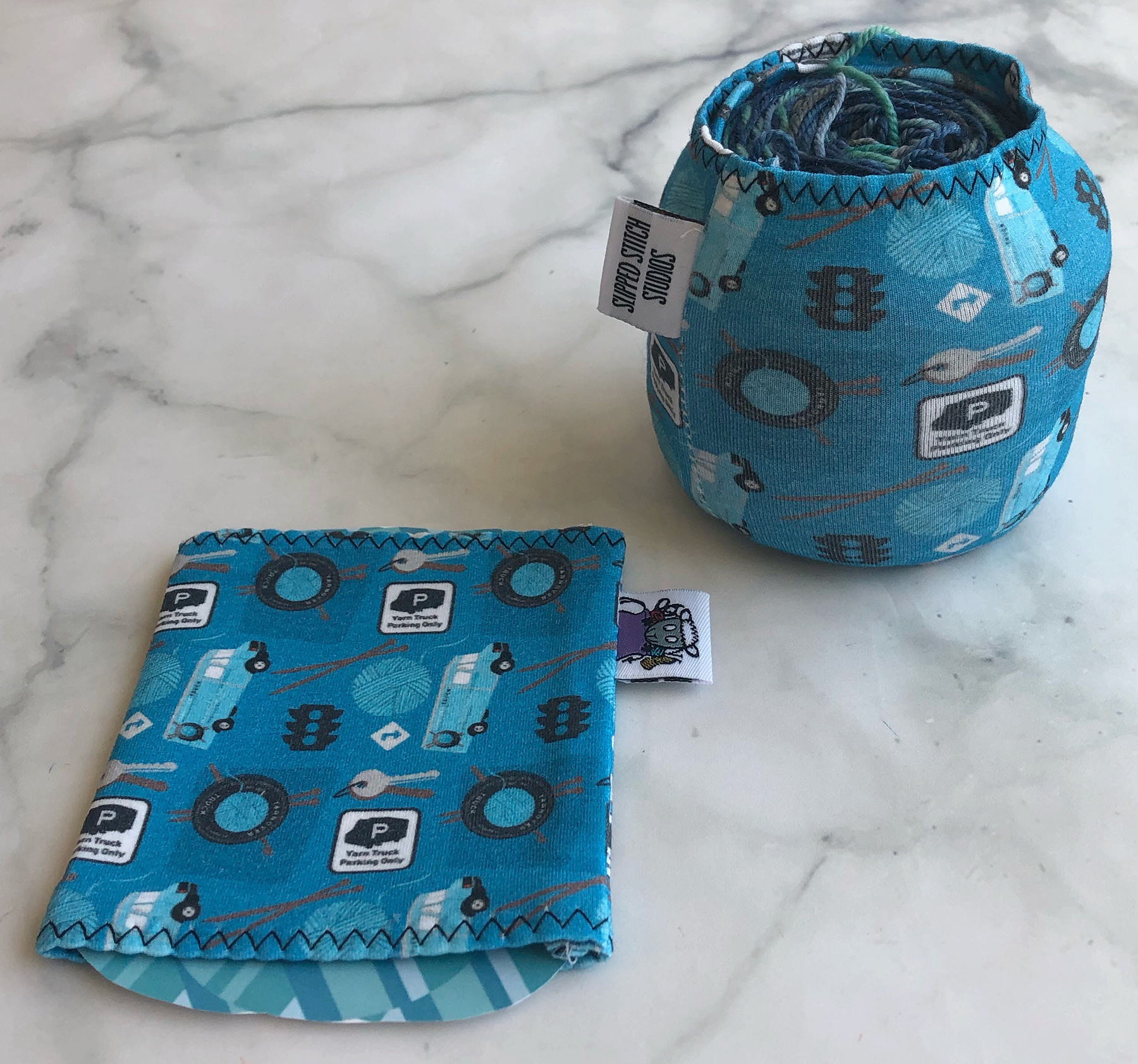 Slipped Stitch Studios SSS Yarn Sock - YOT Fabric