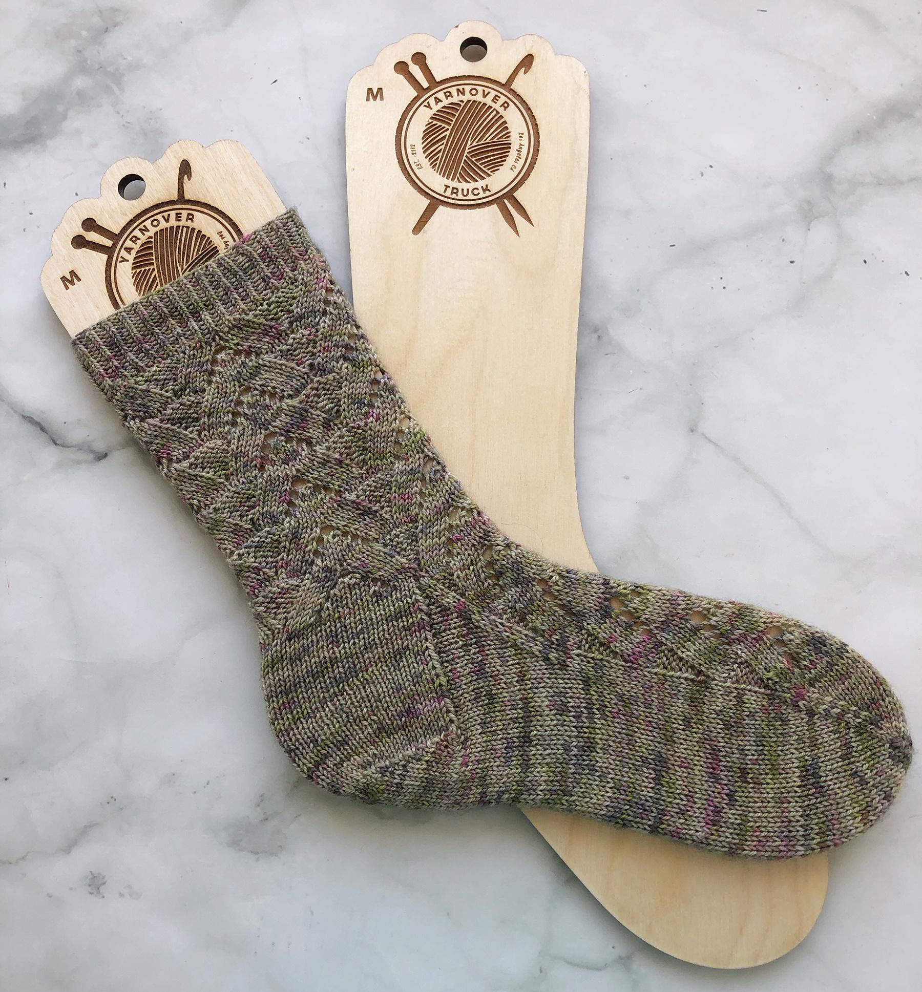 Needle Runs Through It - Sock Blocker M