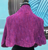 Sample - Purple/Pink Wavy Shawlette