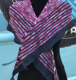Sample 3 Color Knit Shawl