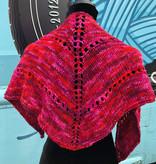 Sample - Red Knit Kerchief