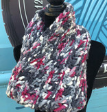 Sample - Multi-Color Knit Chunky Cowl