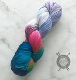 A Whimsical Wood Yarn Co Unimaginable Ass on Pixie Toes Sock from A Whimsical Wood Yarn Co