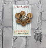 A Needle Runs Through It Gilmore Girls inspired Stitch Marker Set for Knitting