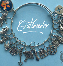 The Sexy Knitter Outlander Themed Stitch Marker Bracelet for Knitting
