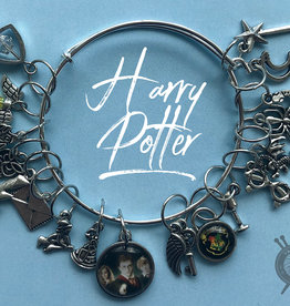 The Sexy Knitter Harry Potter Themed Stitch Marker Bracelet for Knitting