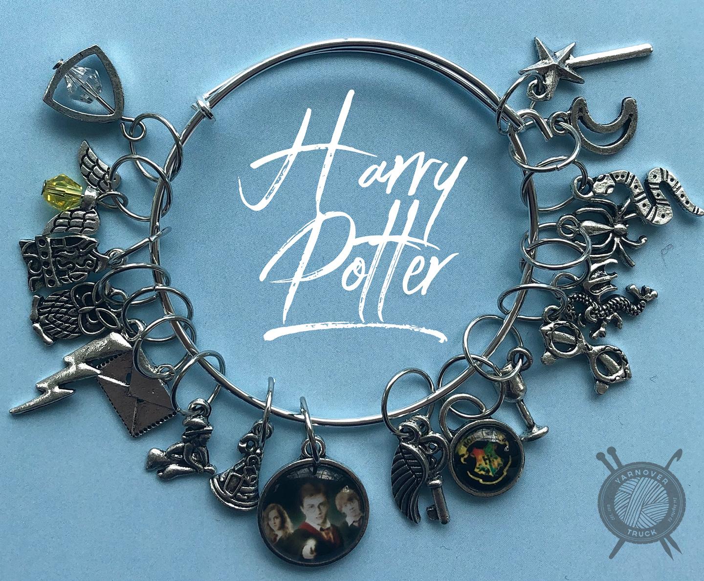 The Sexy Knitter Harry Potter Themed Stitch Marker Bracelet for Knitting