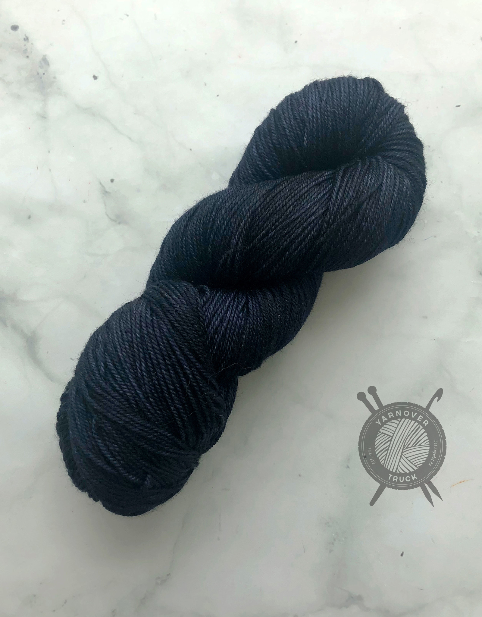 Anzula Not Navy on Squishy from Anzula Luxury Fibers