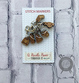 A Needle Runs Through It Handknits Marker Set for Crochet