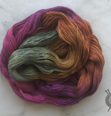 Yarn Love Prickly Pear on Princess Buttercup Fingering from Yarn Love